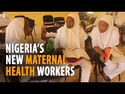 Nigeria's new maternal health workers