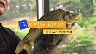 [양어장] 37.핑크3 찌올림과 향붕어 낚시 - 경기 포천 우금낚시터(2018.5.15)