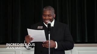 The Wedding Love Story by Jean Mathurin at  Middleburg Community Center, Warrenton Virginia
