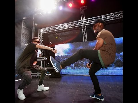 Laylizzy and AKA perform #HelloLaylizzy at Show de Agosto in Maputo