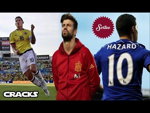 Golazo de JAMES con COLOMBIA | Jugadores del MADRID ELOGIAN a PIQUÉ | SORTEO: ¡Camiseta de HAZARD!