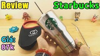 Ly Giữ Nhiệt Cao Cấp Starbucks, Fan Starbucks Điểm Danh Nào