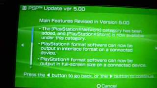 How to Upgrade from  3.80 M33-5 to 5.00 M33-6 PSP
