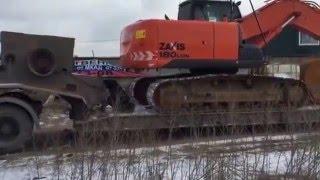 видео Аренда гусеничных экскаваторов