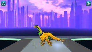 Super Transformer Robot Dinosaur Build and Fight Gameplay HD Part 2