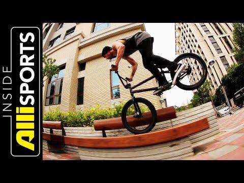 Nike's Garrett Reynolds, Chad Kerley, Alex Kennedy BMX Taiwan | Inside Alli Sports