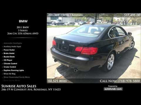 Used 2011 BMW 3 Series | Sunrise Auto Sales, Rosedale, NY - SOLD