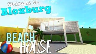 ROBLOX l Welcome to bloxburg Beach House + Giveaway Winner!