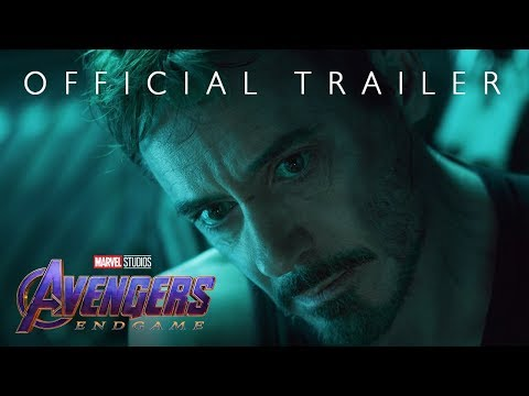 Robin Jones - Surprise! Here's a Trailer for 'Avengers: End Game.'