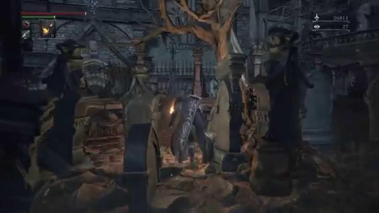 Bloodborne《血源詛咒》如何進入「老獵人DLC」Tutorial (點開完整資訊另有描述) - YouTube