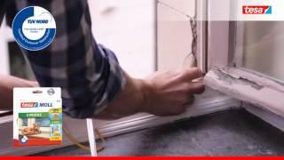 Уплотнитель Е-профиль для окон и дверей tesa(Самоклеящийся резиновый уплотнитель предназначен для герметизации щелей в оконных рамах, дверных коробка..., 2016-03-27T15:25:32.000Z)