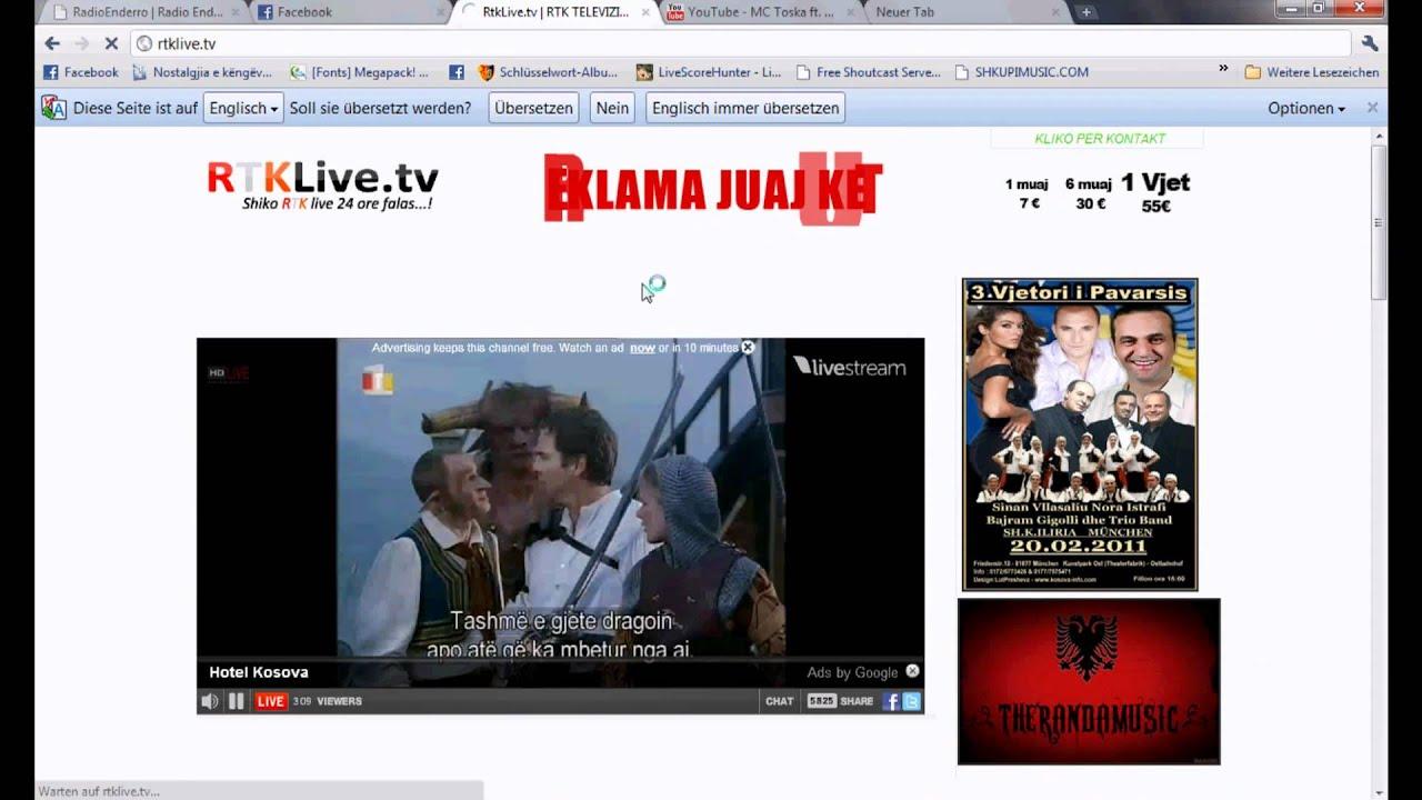 Tv live rtk 1