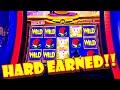 A HARD EARNED COMEBACK!!! * MONOPOLY MONEY GRAB!! - Las Vegas Casino Monopoly Slot Machine Bonus Win