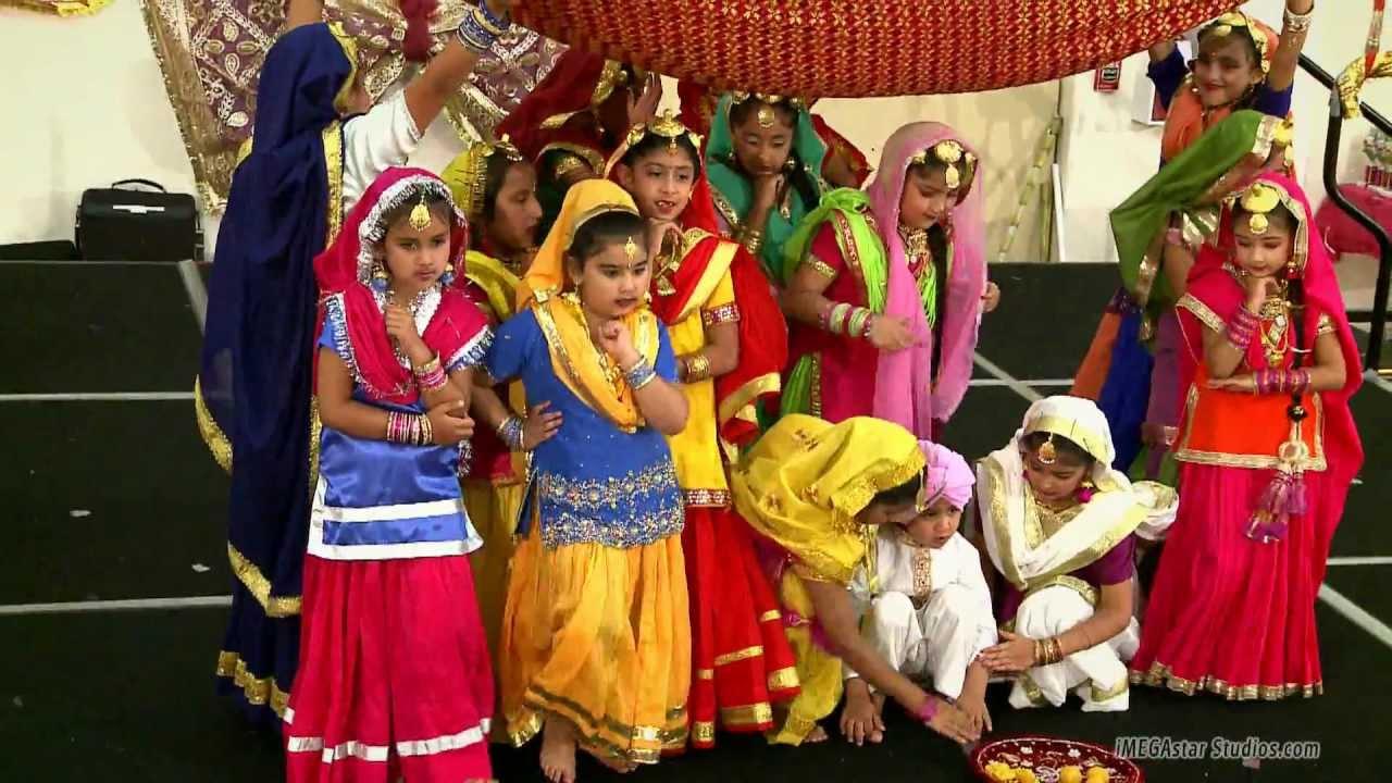 Teeyan MELA  San Jose  Wedding BATNA Sangeet Gidha