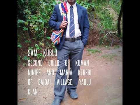 Kublo Family of Yobai, Salt nomane karamui, simbu province.