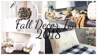 FALL HOME DECOR TOUR 2018