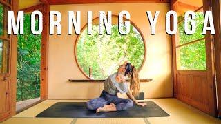 Morning Yoga - Back Pain Relief Sunrise Flow for Energy, Strength, & Flexibilty