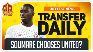 Soumare Transfer Close Man Utd Transfer News