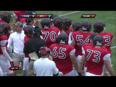 RPI Football vs. Hobart College