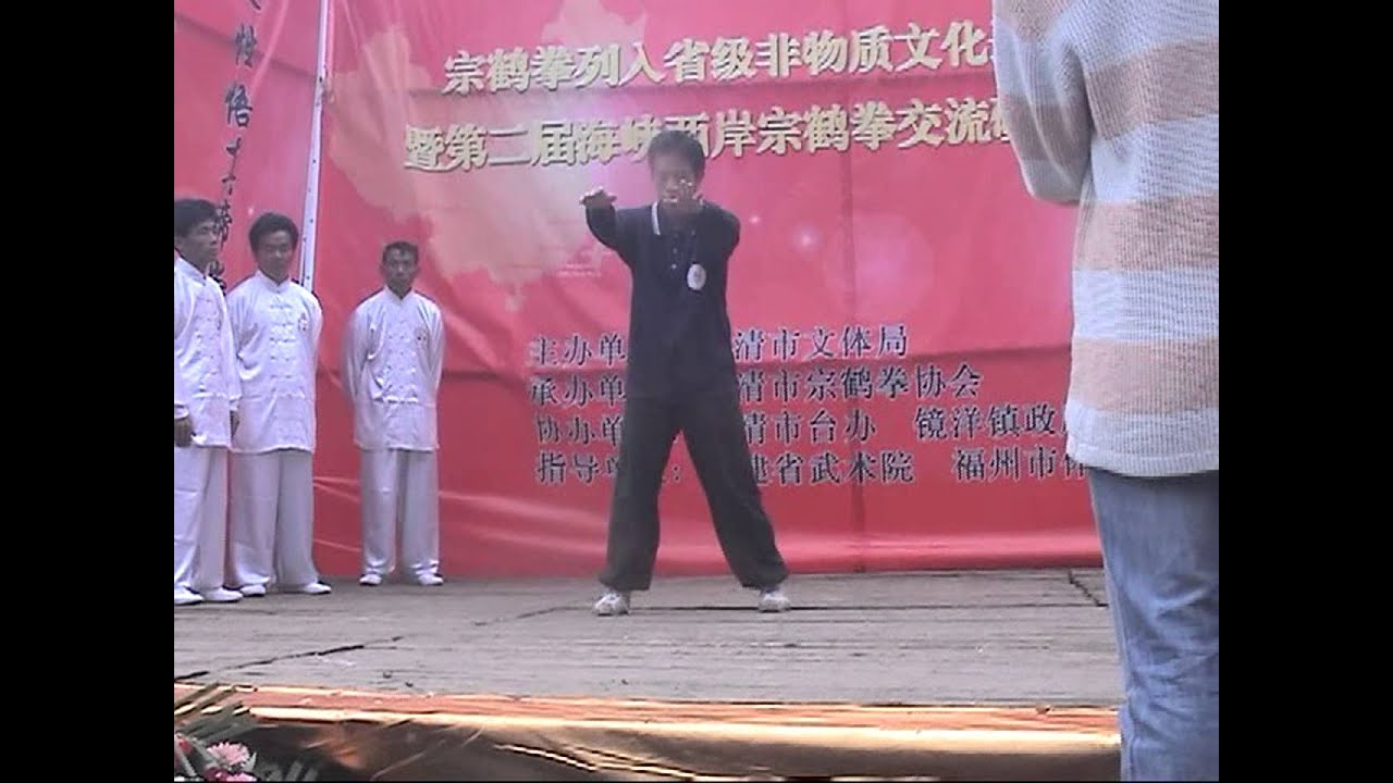 08 04 02縱鶴拳福清拜祖 三戰表演片段 - YouTube