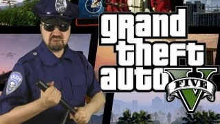 One of AngryJoeShow's most viewed videos: Grand Theft Auto V Angry Review