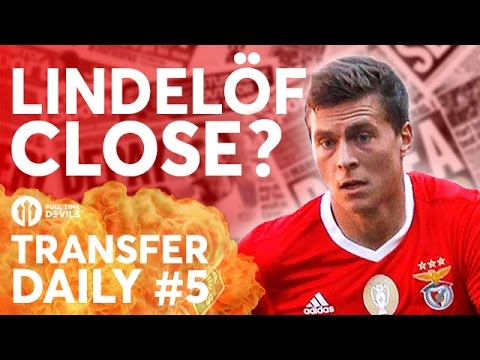 Lindelöf CLOSE? No Evra, Youth Out On Loan | Manchester United Transfer News | TRANSFER DAILY #5