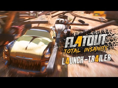 FlatOut 4: Total Insanity - Launch-Trailer