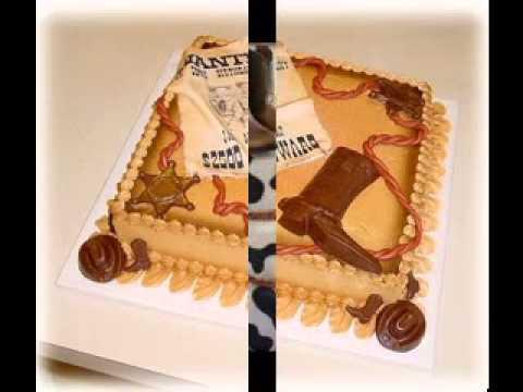 Cowboy Theme Cake Images