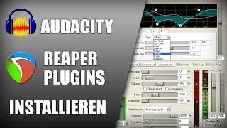 Kostenlose REAPER Plugins für Audacity installieren | Audio Tutorial Deutsch thumbnail