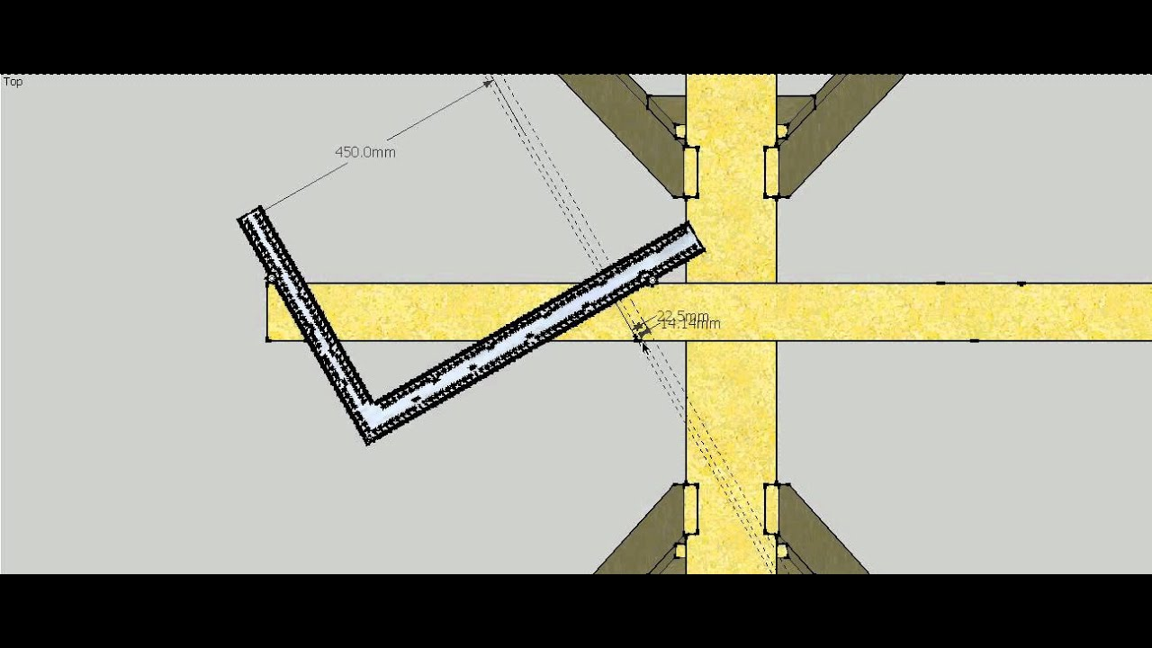 Hip Roof Pattern rafter