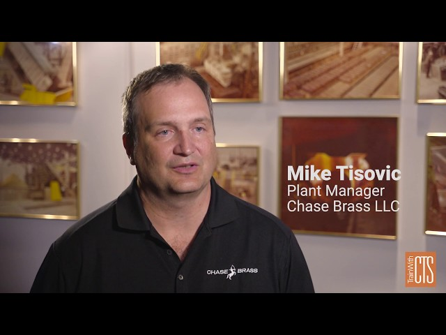 Custom Training Solutions: Chase Brass Partnership