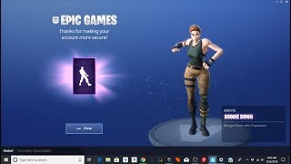 How To Get The Boogie Down Dance In Fortnite For FREE!!!! (PC)