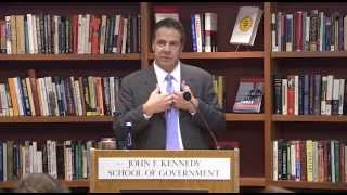 Governor Cuomo Addresses Students at Harvard Kennedy School's Center for Public Leadership