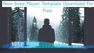 Avee Player New Template 2020 Free Download Alan Waker Simple