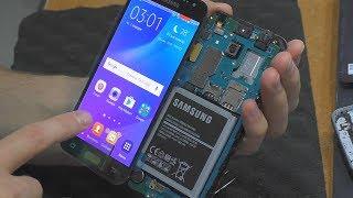 Замена модуля дисплея смартфона Samsung Galaxy J3 (J320)