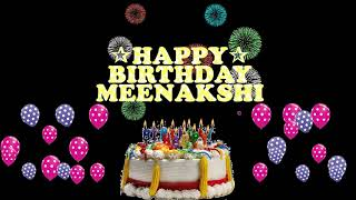 MEENAKSHI HAPPY BIRTHDAY TO YOU