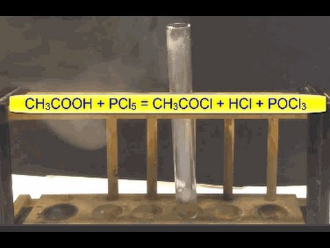 Carboxylic Acids Advanced. Reaction with PCl5