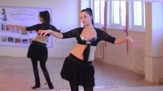 """Школа восточного танца """"Жасмин"""", видеоурок 1"""