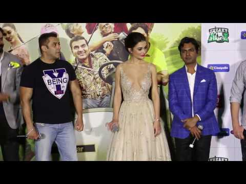 Freaky Ali Movie Press Conference In Dubai& Mumbai - Salman Khan,Nawazuddin Siddiqui,Amy Jackson