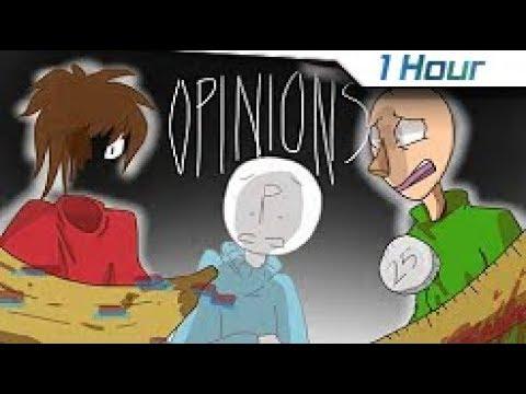 [1 Hour] Opinions Meme (Animatic/Animation) [Baldi's Basics] Flashing lights warning!!