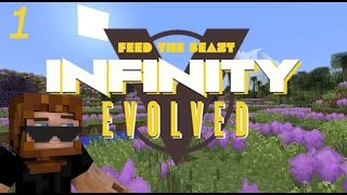 minecraft ftb infinity evolved ep 1 and so it begins