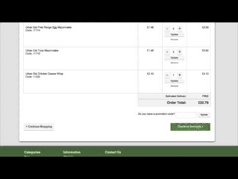 Kerryfresh Placing an Order Online
