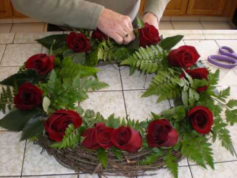Ocean Friendly Biodegradable Wreaths for Burial at Sea