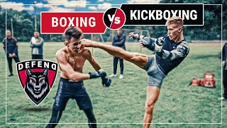 German-KICKBOXER vs. Russian-BOXER | MMA-Streetfight | DFC