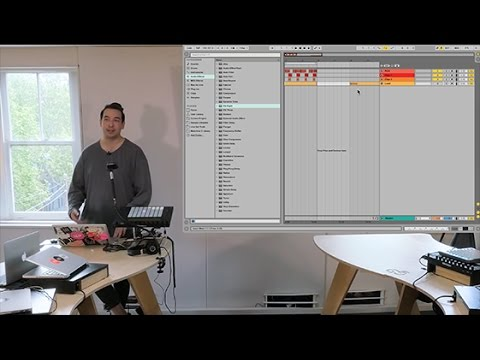 Ableton Live Tutorial : Adding swing to tracks with Swindail