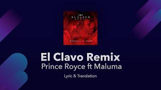El Clavo  English S - Prince Royce Ft Maluma - S English And Spanish Translation