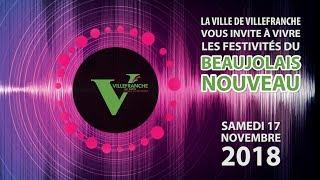 Venez fêter le Beaujolais Nouveau 2018 à Villefranche-sur-Saône