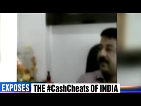 Caught On Camera - Mumbai Travel Agent Converts BLACK MONEY