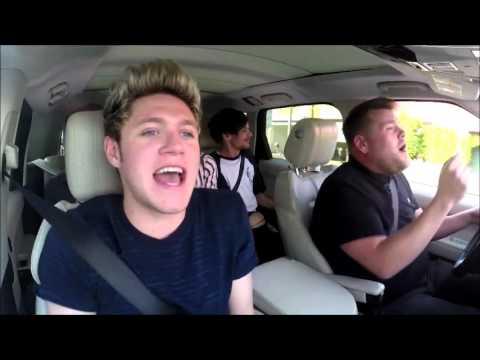 One Direction  Drag Me Down Carpool Karaoke HD