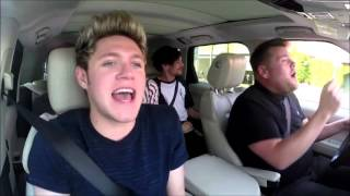 One Direction Drag Me Down Carpool Karaoke Hd